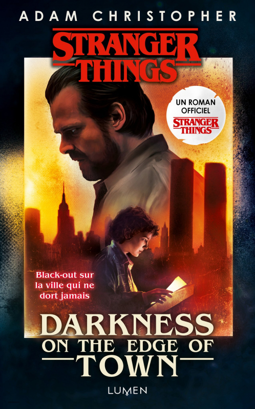 Couverture  Stranger Things : Darkness on the Edge of Town