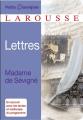 Couverture Lettres Editions Larousse (Petits classiques) 2014