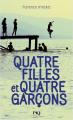 Couverture Quatre filles et quatre garçons Editions Pocket (Jeunesse) 2019