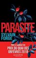 Couverture Parasite Editions Mazarine 2019