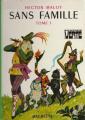 Couverture Sans famille (2 tomes), tome 1 Editions Hachette (Bibliothèque verte) 1976
