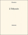Couverture L'odyssée / Odyssée Editions Bibebook 2013