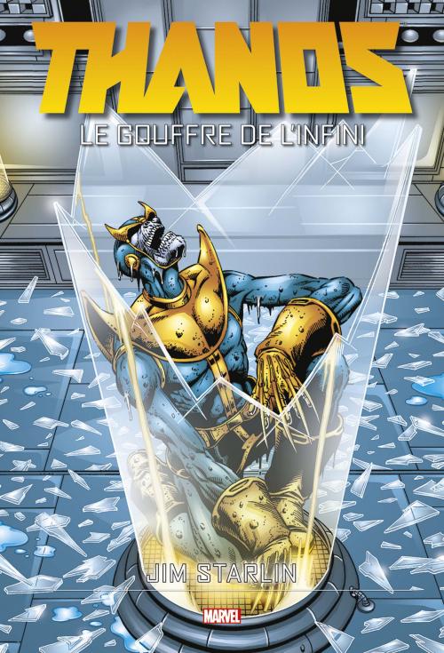 Couverture Thanos : Le gouffre de l'Infini