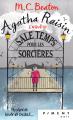 Couverture Agatha Raisin enquête, tome 09 : Sale temps pour les sorcières Editions France Loisirs (Piment - Noir) 2019