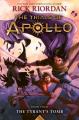 Couverture Les travaux d'Apollon, tome 4 : Le tombeau du tyran Editions Disney-Hyperion 2019