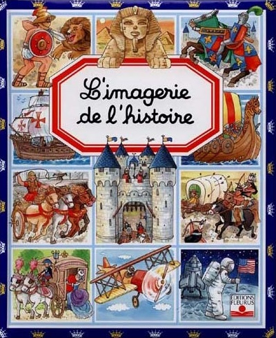 Couverture L'imagerie de l'histoire