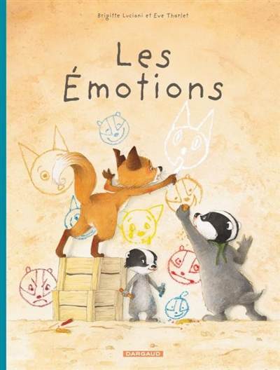 Couverture La famille Blaireau Renard présente, tome 1 : Les émotions