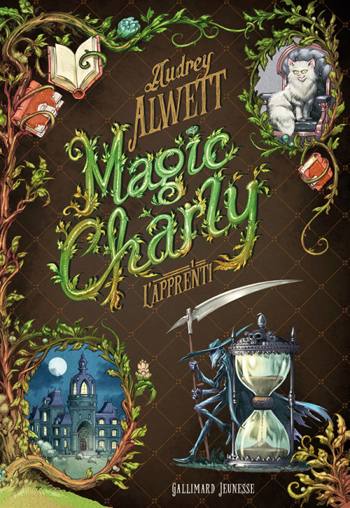 Couverture Magic Charly, tome 1 : L'apprenti
