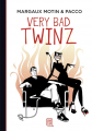 Couverture Very Bad Twinz, tome 1 Editions J'ai Lu (BD) 2019