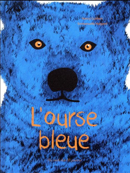 Couverture L'ourse bleue