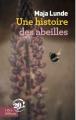 Couverture Une histoire des abeilles Editions Libra Diffusio 2018