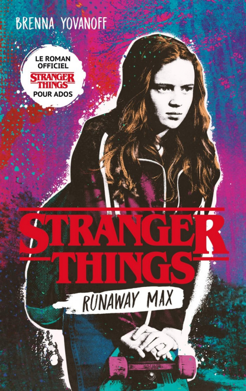 Couverture Stranger Things : Runaway Max