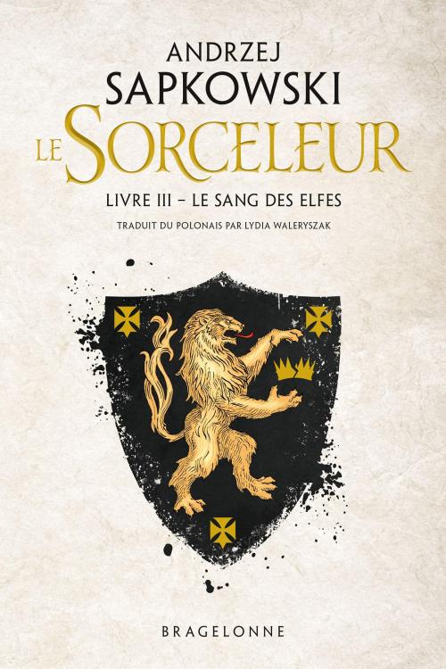 Couverture Sorceleur, tome 3 : Le sang des elfes
