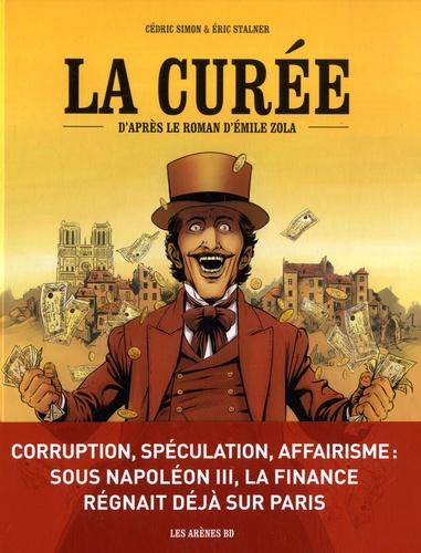 Couverture La Curée (BD)