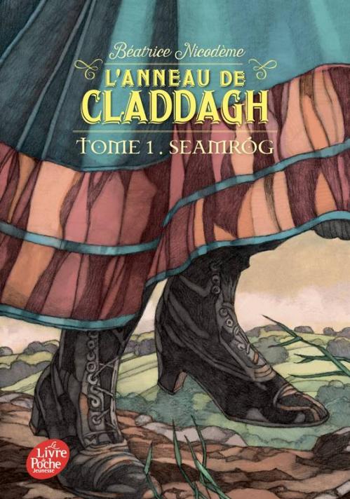 Couverture L'anneau de Claddagh, tome 1 : Seamróg