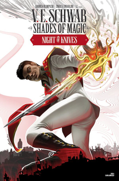Couverture Shades of Magic: The Steel Prince, book 2: Night of Knives, part 1
