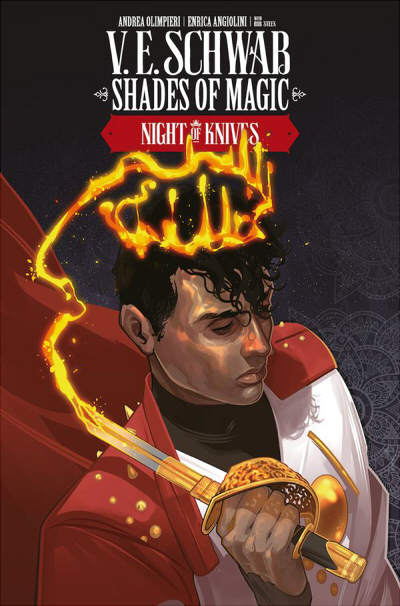 Couverture Shades of Magic: The Steel Prince, book 2: Night of Knives, part 2