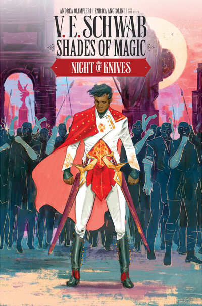 Couverture Shades of Magic: The Steel Prince, book 2: Night of Knives, part 3