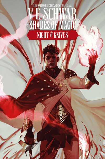 Couverture Shades of Magic: The Steel Prince, book 2: Night of Knives, part 4
