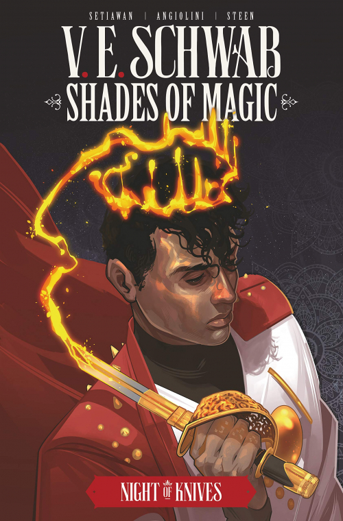 Couverture Shades of Magic: The Steel Prince, omnibus, book 2: Night of Knives
