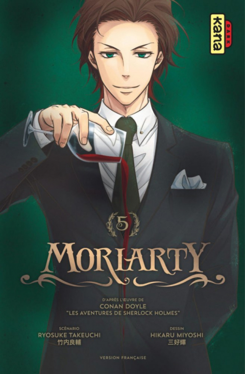 Couverture Moriarty, tome 5