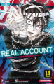Couverture Real account, tome 14 Editions Kurokawa (Shônen) 2019