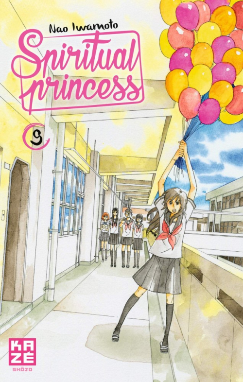Couverture Spiritual Princess, tome 09