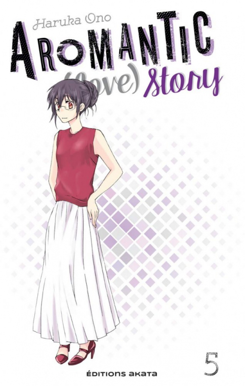 Couverture Aromantic (love) story, tome 5