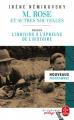 Couverture M. Rose et autres nouvelles Editions Le Livre de Poche (Les classiques pédago) 2019