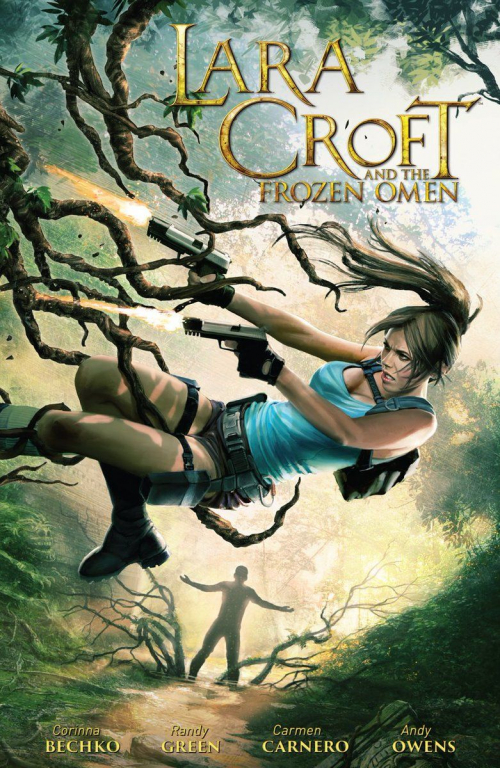 Couverture Lara Croft and the Frozen Omen, integral