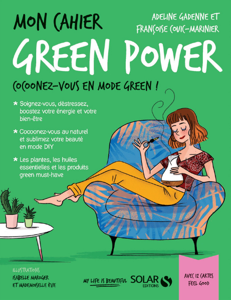 Couverture Mon cahier : Green Power