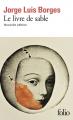 Couverture Le livre de sable Editions Folio  2018