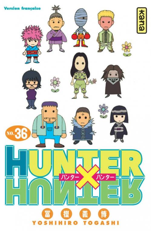 Couverture Hunter X Hunter, tome 36