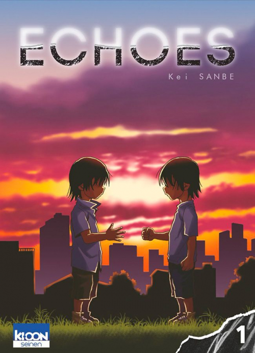 Couverture Echoes, tome 1