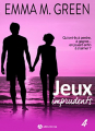 Couverture Jeux imprudents, tome 4 Editions Addictives 2018