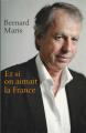Couverture Et si on aimait la France Editions Le Grand Livre du Mois 2015