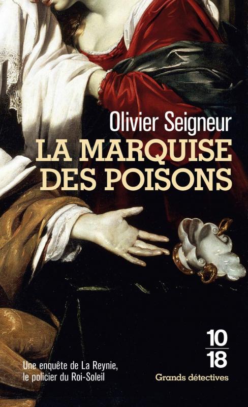 Couverture La Marquise des poisons