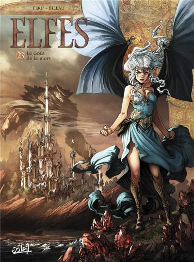 Couverture Elfes, tome 23 : Le goût de la mort