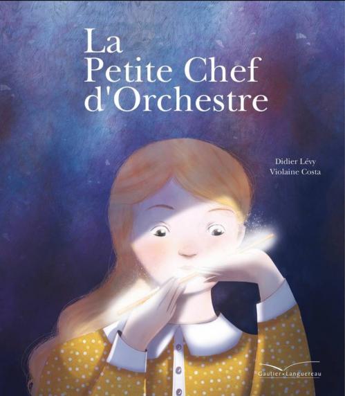 Couverture La petite chef d'orchestre