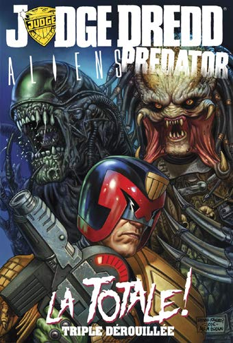 Couverture Judge Dredd / Aliens / Predator : La Totale !