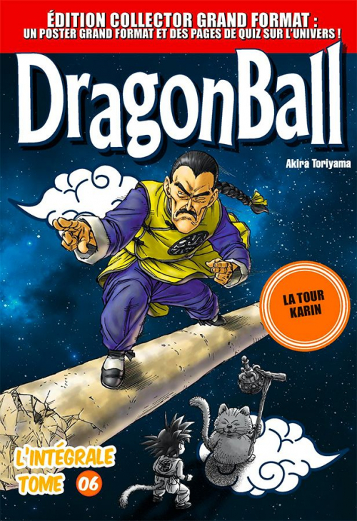Couverture Dragon Ball (Grand format), tome 6