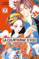Couverture La courtisane d'Edo, tome 7 Editions Pika (Shôjo - Red light) 2019
