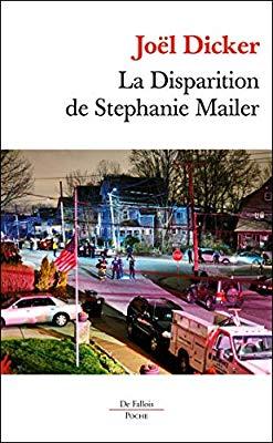 Couverture La disparition de Stéphanie Mailer