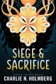 Couverture Numina, book 3: Siege and Sacrifice Editions 47North 2019