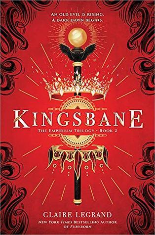 Couverture The Empirium Trilogy, book 2: Kingsbane