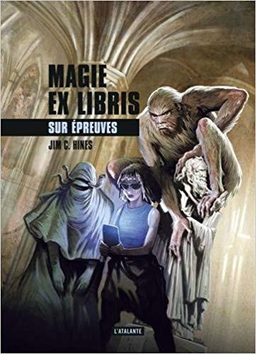 Couverture Magie Ex Libris, tome 3 : Sur épreuves