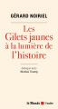 Couverture Les gilets jaunes à la lumière de l'histoire Editions De l'aube 2019