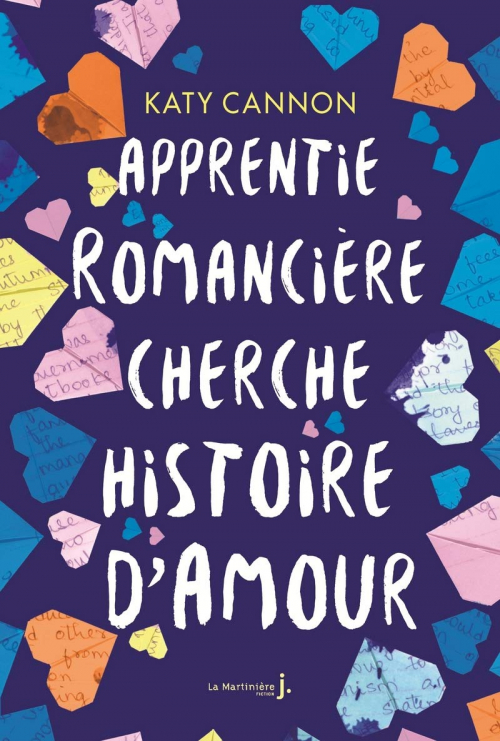 Couverture Apprentie romancière cherche histoire d'amour