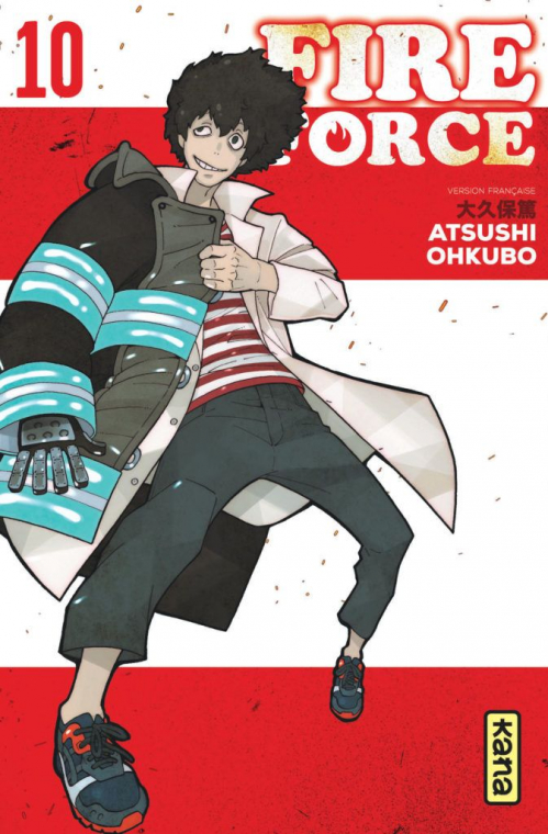 Couverture Fire Force, tome 10