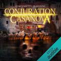 Couverture Commissaire Antoine Marcas, tome 02 : Conjuration Casanova Editions Audiolib 2016